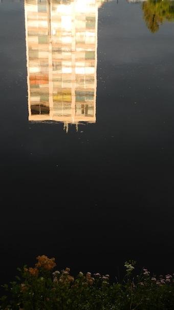 reflet dans le Cher
